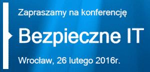 Harmonogram konferencji Bezpieczne IT Wrocław