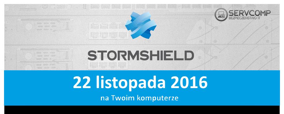 eKonferenecja Stormshield 26 października 2016 r.