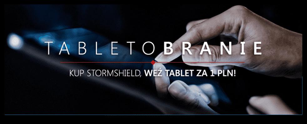 Wielkie TabletoBRANIE od Stormshield