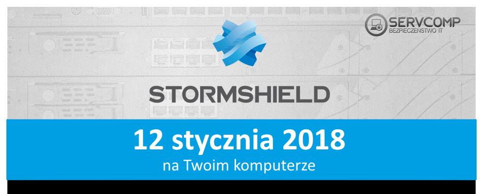 eKonferencja Stormshield 12 stycznia 2018