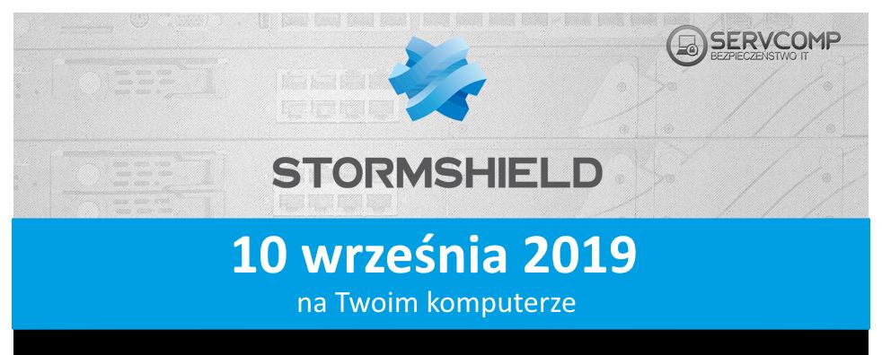 eKonferencja Stormshield - 10 września 2019