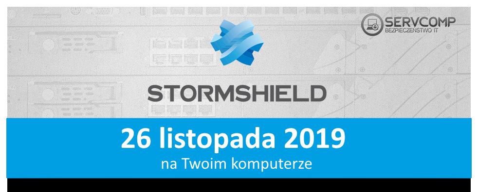 eKonferencja Stormshield 26 listopada 2019