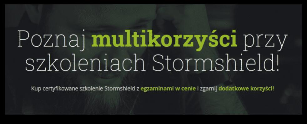Poznaj multikorzyści przy szkoleniach Stormshield!